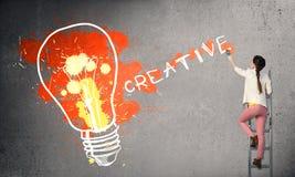 Kreativere Ideen stockfotos
