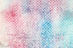 Kreatives abstraktes Muster, Pastellfarbhintergrund Lizenzfreie Stockfotos