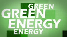 Kreatives Bild der grünen Energie Lizenzfreies Stockfoto