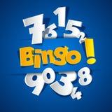 Kreatives Bingo Stockfotografie