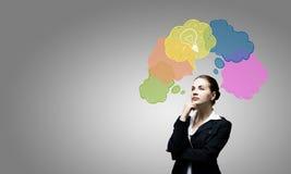 Kreatives Denken Stockfotos