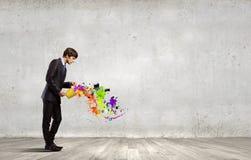 Kreatives Denken Stockfoto