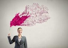 Kreatives Denken Lizenzfreie Stockbilder