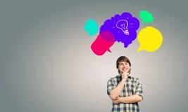 Kreatives Denken Lizenzfreies Stockfoto