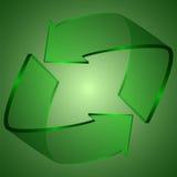 kreatives Design des Pfeiles 3d Lizenzfreies Stockbild