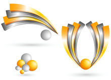 kreatives Design des Symbols 3d Stockbilder