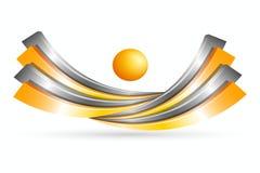 kreatives Design des Symbols 3d Stockfoto