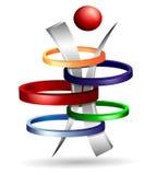 kreatives Design des Symbols 3d Lizenzfreies Stockbild