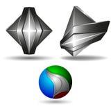 kreatives Design des Symbols 3d Stockfotografie