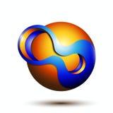 kreatives Design des Symbols 3d Stockfotos