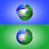 kreatives Design des Symbols 3d Lizenzfreie Stockfotografie