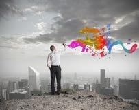 Kreatives Geschäft lizenzfreie stockfotografie