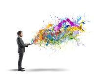 Kreatives Geschäft Stockbild