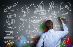 Kreatives Geschäft lizenzfreies stockfoto