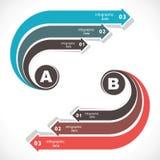 Kreatives Geschäft Infographics vektor abbildung