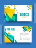 Kreatives Geschäft oder Visitenkarte Lizenzfreie Stockbilder