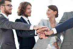Kreatives Geschäftsteam Das Konzept der Teamwork lizenzfreies stockfoto