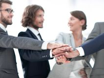 Kreatives Geschäftsteam Das Konzept der Teamwork stockbild