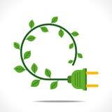Kreatives grünes Energiekonzept vektor abbildung