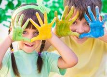 Kreatives Kinderkonzept lizenzfreie stockfotos
