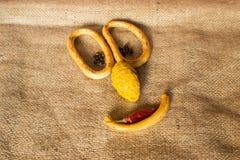 Kreatives Lebensmittel Stockfoto