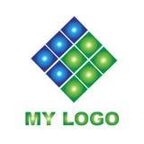 Kreatives Logo für Ihre Firma Stockfoto