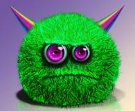 Kreatives lustiges Monster Stockbild