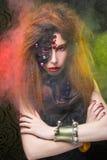 Kreatives Mädchen Stockfoto