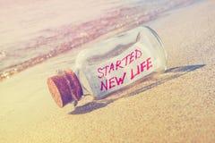 Kreatives neues Leben- und Ferienkonzept Lizenzfreies Stockfoto