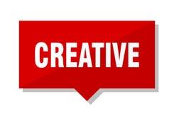 Kreatives rotes Tag vektor abbildung