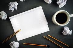 Kreatives Schreibens-Konzept Stockfoto