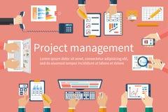 Kreatives Team, Vektor Geschäftstreffen, Teamwork, Brainstorming lizenzfreie abbildung