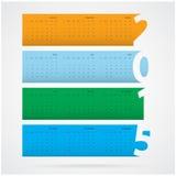 Kreatives Textdesign des guten Rutsch ins Neue Jahr 2015 Stockbilder