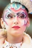 Kreatives Verfassungserscheinen am Festival der Schönheit Lizenzfreies Stockfoto