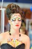 Kreatives Verfassungserscheinen am Festival der Schönheit Stockbild