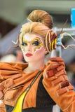 Kreatives Verfassungserscheinen am Festival der Schönheit Lizenzfreie Stockbilder