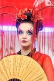 Kreatives Verfassungserscheinen am Festival der Schönheit Lizenzfreie Stockfotografie