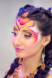 Kreatives Verfassungserscheinen am Festival der Schönheit Lizenzfreies Stockbild