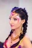 Kreatives Verfassungserscheinen am Festival der Schönheit Lizenzfreie Stockfotos