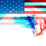 Kreatives 4. von Hintergrund Julis Amerika vektor abbildung