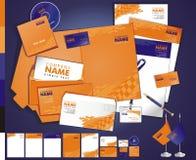 Kreatives zeitgenössisches tamplate Geschäft des Plans Lizenzfreie Stockbilder