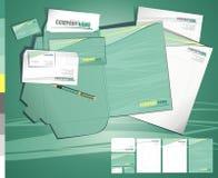 Kreatives zeitgenössisches tamplate Geschäft des Plans Lizenzfreie Stockfotografie