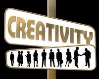 Kreativität Lizenzfreies Stockfoto