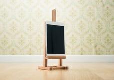 Kreativität auf Tablette Stockbilder