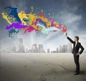 Kreativität im Geschäft lizenzfreie stockfotografie