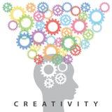 kreativitet Arkivbilder