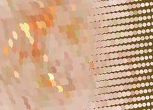 kreatywne abstrakcyjna ilustracja Łaciasty halftone skutek Wektorowa klamerki sztuka Zdjęcia Royalty Free