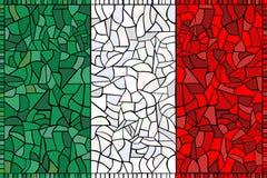 kreatywne bandery obywatela Włoch Obraz Stock
