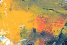 Kreatywnie abstrakcjonistyczna ręka malował tło, tapeta, tekstura Abstrakcjonistycznej sztuki backgrounde royalty ilustracja