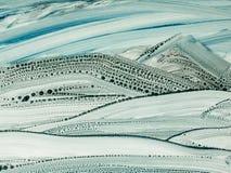 Kreatywnie abstrakcjonistyczna ręka malował tło, tapeta, tekstura, c zdjęcia stock